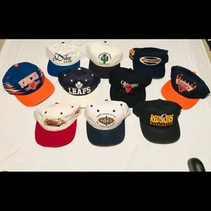 Other - 10 vintage SnapBack hat bundle